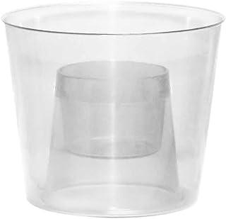أكواب بارتي إيسينشالز البلاستيكية الصلبة، 118 مل، شفاف، 12 قطعة
