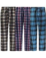 Bill Baileys Mens 3 Pack Fleece Pajama Pants Lounge Pants Sleep Pants Sleepwear with Pockets (3X-Large)