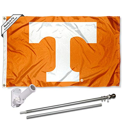 College Flags and Banners Co Tennessee Volunteers Power T Car Flag