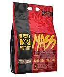 MUTANT MASS – Protéines en poudre pour prise de masse Mélange de protéines de lactosérum et de caséine pour boissons, shakes et smoothies péri-entraînement riches en calories Trio de chocolat 6,8 kg