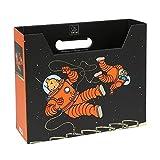 Moulinsart Caja archivadora DIN A4 Las Aventuras de Tintín en la Luna (54379)