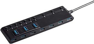 Monoprice Monoprice USB 3.0 10-port Switch Hub, with AC Adapter