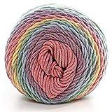 Ouken 1X (#18) Natürliche weiche Seide Milch Baumwolle Garn Dickes Garn Stricken Liebhaber Schals Strickwolle Häkelgarn Weave Thema DIY Sweater