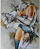 ZHLMMZD Rompecabezas 3000 Piezas Rompecabezas para Adultos Rompecabezas de Madera clásico Rompecabezas 3D colección de Belleza Abstracta y Paloma decoración del hogar Moderno
