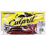 Culprit C720-02 Original Culprit 7-1/2-Inch Worm Red Shad, 18-Pack