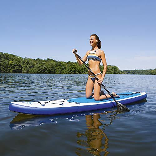 EASYmaxx Stand-Up Paddle-Board 320cm mit umfangreichem Zubehör