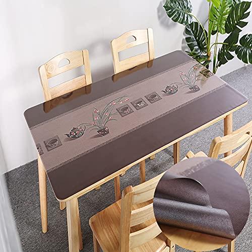 sans_marque Manteles, mesas, textiles para el hogar, elegantes manteles bordados, modernos manteles antiguos, manteles de lujo 60*120cm