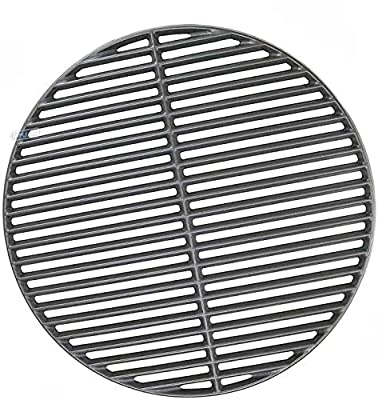 Votenli C6999A(1-Pack) Cast Iron Cooking Grid Grates Replacement for Big Green Egg Large Vision Grill VGKSS-CC2,B-11N1A1-Y2A