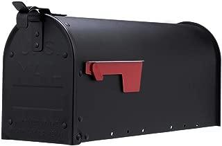 Gibraltar Mailboxes ADM11B01 Admiral Mailbox Textured Black