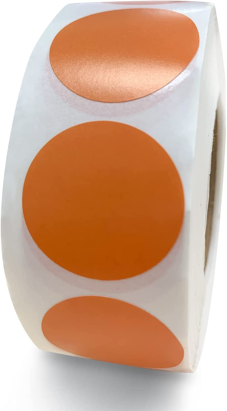 """Choice 1 Inch""""Round Color Outlet sale feature Coding Dot Sticke,Stickers Circle A"""