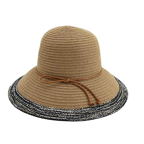 Great Price! Hat Women's Foldaway Shuck Hat Outdoor Beach Hat Sun Protection Sun Hat Sun Hat (Color ...