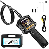 HOMIEE Industrial Endoscope, Borescope Inspection Camera with 2.3 Inch LCD Screen, Automotive S…
