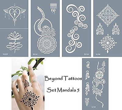 Plantillas para tatuajes autoadhesivas