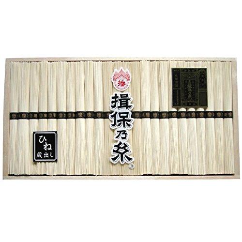 揖保乃糸 手延素麺特級品 黒帯 古 1200g(50g×24束)[k-n]