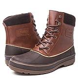 GLOBALWIN Men's Brown 1721 Winter Snow Boots 12M