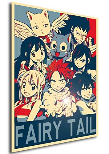 "Poster Fairy Tail ""Propaganda"" Caractères - A3 (42x30 cm)"