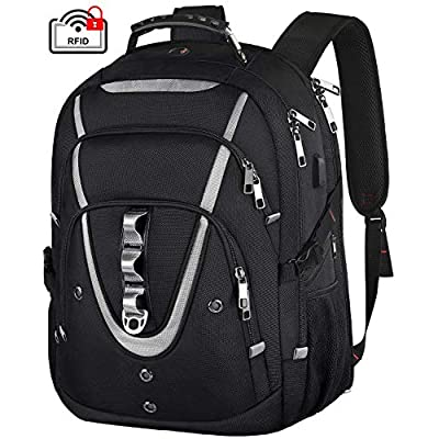 18.4 Laptop Backpack for Men, 55L Extra Large G...