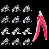 12Pcs Nail Tips Clip for Quick Building Polygel...