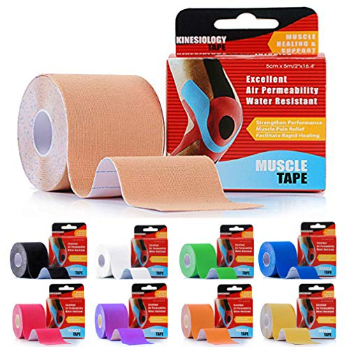 New 2PK Assured Athletic Tape Helps Prevent Sprains helps protect injured Areas