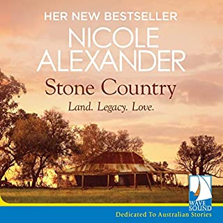 Stone Country audiobook cover art
