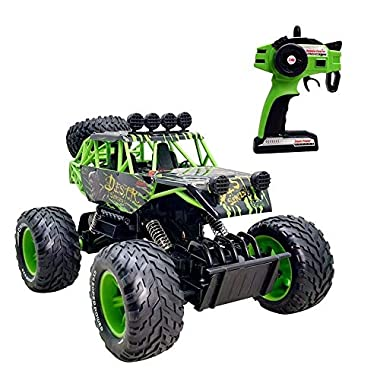 URVP Rock Crawler Radio Controlled Car Alloy Remote Control 4WD car Drive Off-Road Vehicle Bigfoot Vehicle RC Truck 2.4…