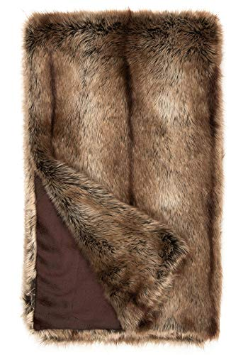 Donna Salyers' Fabulous-Furs Limited Edition Tipped Coyote Faux Fur Throws (60x86 in) (Tipped Coyote) -  Fabulous Furs