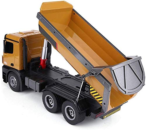 ZHNA-Juguetes de Control Remoto Mando a Distancia de ingeniería Grandes vehículos, Camiones de volteo eléctricos, vehículos de Movimiento de Tierras, Juguetes for niños