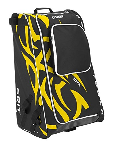 "Grit Inc HTFX Hockey Tower 33"" Wheeled Equipment Bag Yellow HTFX033-BO (Boston)"