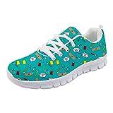 Coloranimal Spring Summer Nurse Flats - Zapatillas de senderismo para mujer, color Multicolor, talla 37 EU