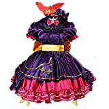Remilia Scarlet Cosplay Costume Uniform Halloween Christmas Anime Game (Female L)