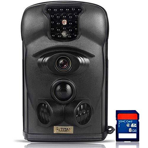 ARTITAN 防犯カメラ 1200万画素 トレイルカメラ フルセット 人感センサー フルHD 動き検知 IP65防水カメラ 赤外線LEDライト搭載 120°検知範囲 暗視カメラ 家庭 屋外 動物撮影 野外玄関監視