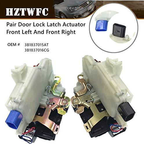 HZTWFC Paire De Verrou De Porte Actionneur Avant Gauche Et Avant Droite OEM # 3B1837015AT 3B1837016CG pour VW BEETLE GTI JETTA R32 RABBIT