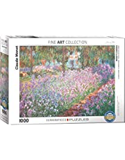 EuroGraphics Puzzel Monets Tuin bij Giverny van Claude Monet