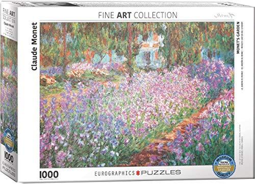 EuroGraphics Puzzle Monets Garten bei Giverny von Claude Monet