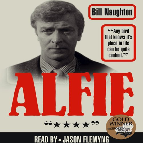 Alfie audiobook cover art