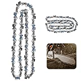 UNEEDE 2Pcs 16 inch Chainsaw Chains 3/8 LP fits for Craftsman, Homelite, Poulan, Oregon S56