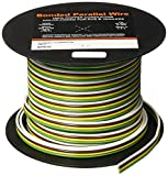 RV Trailer PVC-coated 4 conductor copper wires 16 Gauge 100' EAST PENN 02915