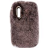 TAITOU Coque pour Huawei MateXs/X Art faite à la main en laine douce et moelleuse avec queue de...