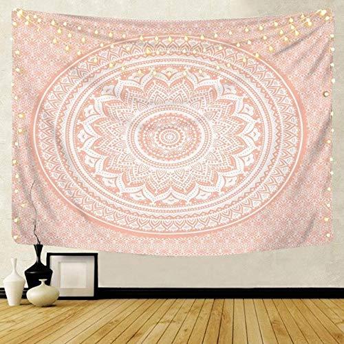 Mandala Motif Indien tapisserie tenture murale décoration bohème Serviette de Plage Polyester Mince couverture Yoga châle Tapis de Voyage