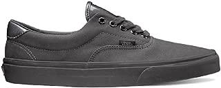 Vans Unisex Era 59 (Mono Metallic) Gunmetal Skateboarding Shoe VN0A38FSQKC