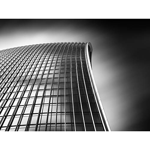 Warby Abstract Angle Walkie Talkie Building London Photo Large XL Wall Art Canvas Print Guerra Resumen Londres Fotografía Pared