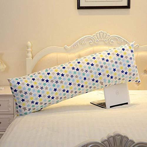 WTMLK Flower Soft Body Pillow Almohada Larga para Dormir para Adultos y Embarazadas Decoración de habitación de niños, 4,60x30cm