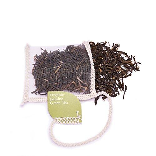 Solaris Tea Bio - Jasmin Grüntee, 40 Seidenteebeutel, 1er Pack (1 x 60 g)