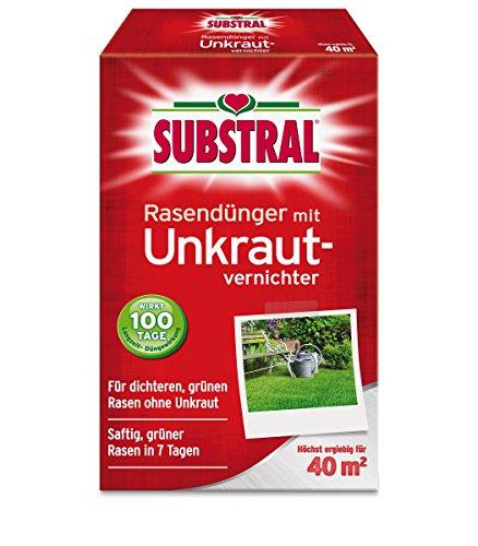 SCOTTS Substral® Rasendünger mit Unkrautvernichter, 800 g