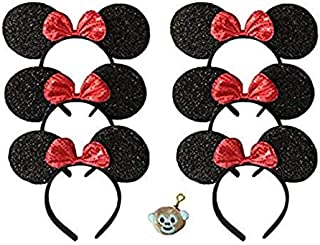 Family Pack Mickey Mouse Style Ears Kids Adults/Minnie Style Girls Parties