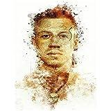 LIUXR Macklemore Hip Hop Musik Star Sänger Poster