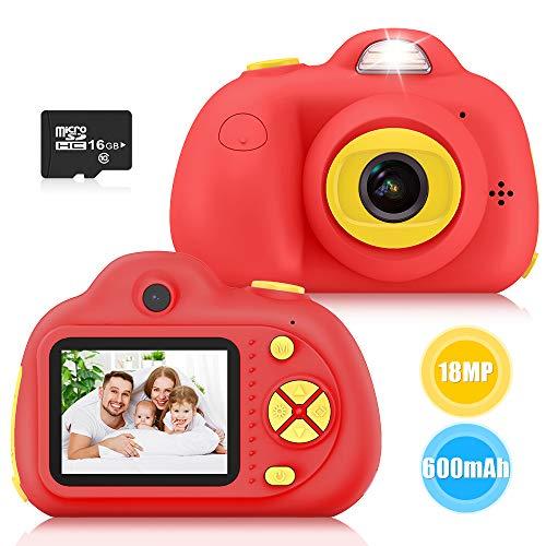 Kimy Spielzeug ab 3 4 5 6 7 Jahre Mädchen, Kinder Geschenke 3-10 Jahre Kinder Kamera Kinderspielzeug ab 3-10 Jahren Digitalkamera Kinder 3-10 Jahre Mädchen Spielzeug Geschenke für Kinder