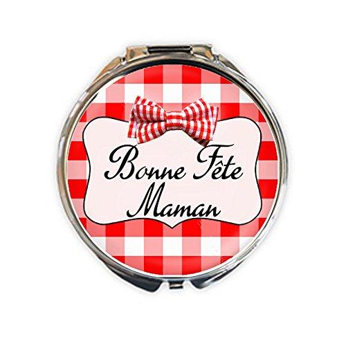 Miroir de poche Bonne Fête Maman