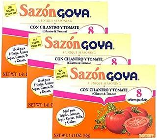 Goya Sazon Con Cilantro Tomate