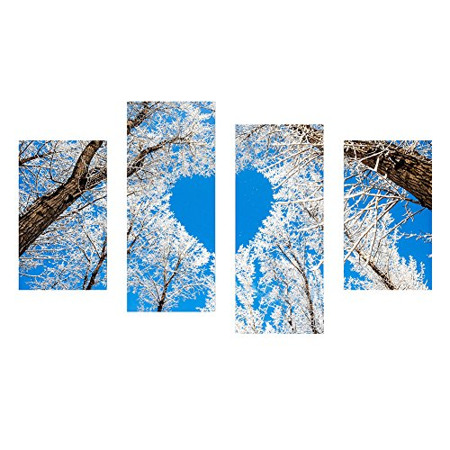 winnereco forma de corazón árbol 5d Diamond DIY Craft de punto de cruz bordado de pintura Pintura Decoración del hogar